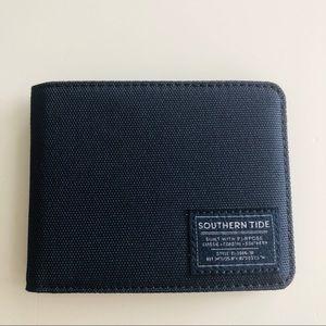 Southern Tides classic bill fold wallet Navy